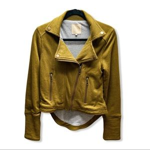 CHASER MOTORCYCLE JACKET OLIVE WOMAN'S SIZE XS